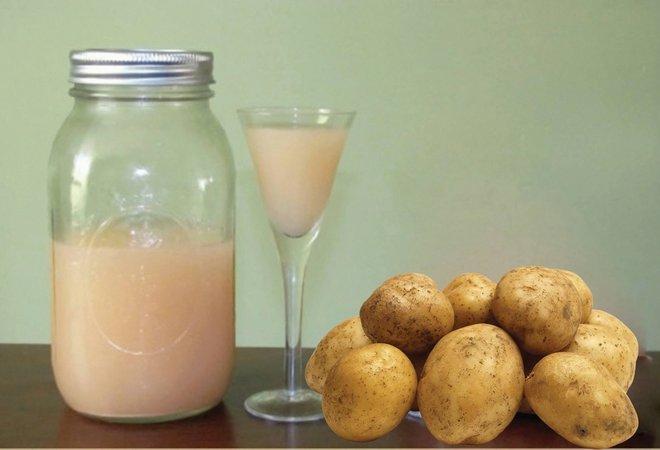 Сок из картошки для поджелудочной