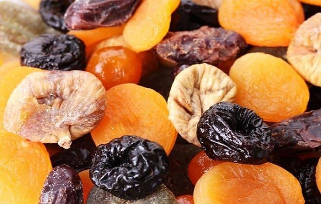 Сушеные фрукты