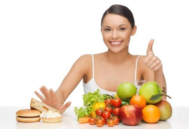 Здоровое питание для фигуры