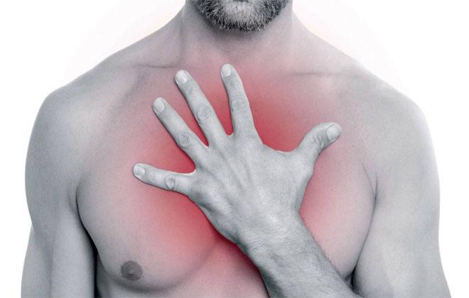 Боль за грудной клеткой