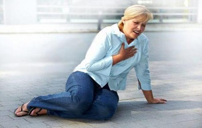 Инфаркт женщина