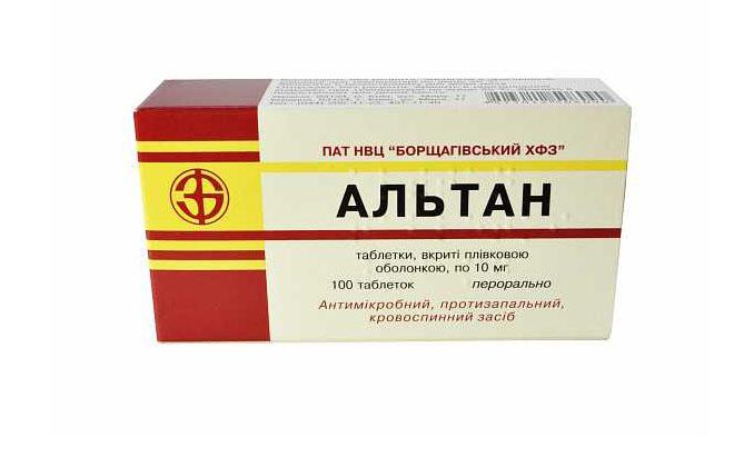 Альтан препарат