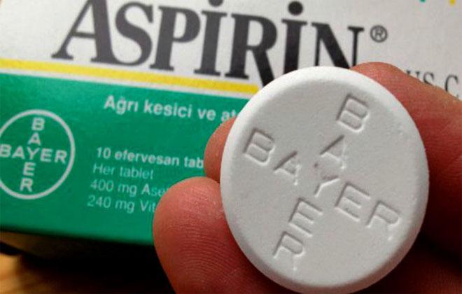 Аспирин в таблетке