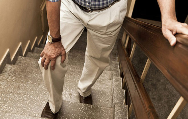 Дискомфорт при ходьбе