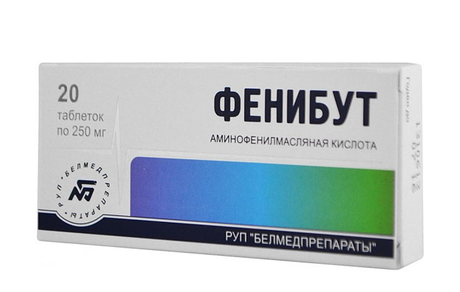 Фенибут в таблетках