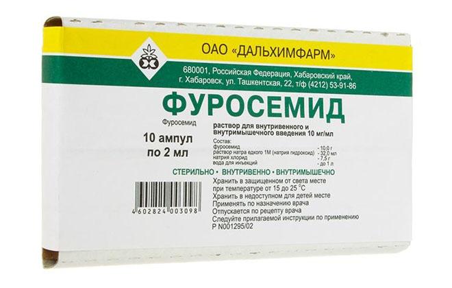 Фуросемид лекарство