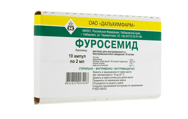 Фуросемид препарат