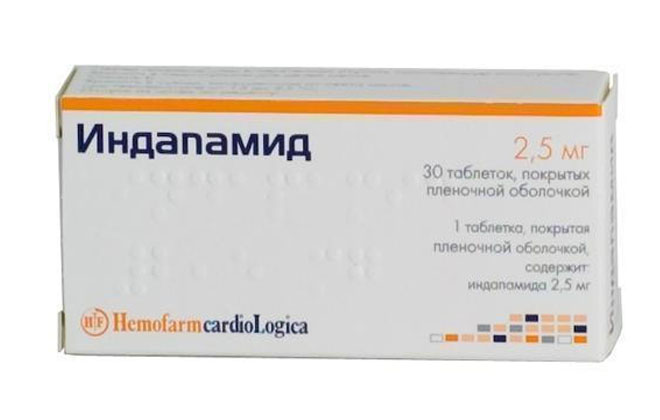 Индапамид препарат