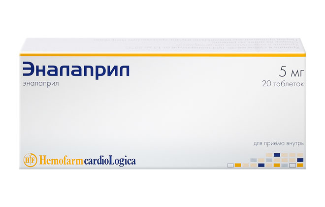 Лекарство Эналаприл
