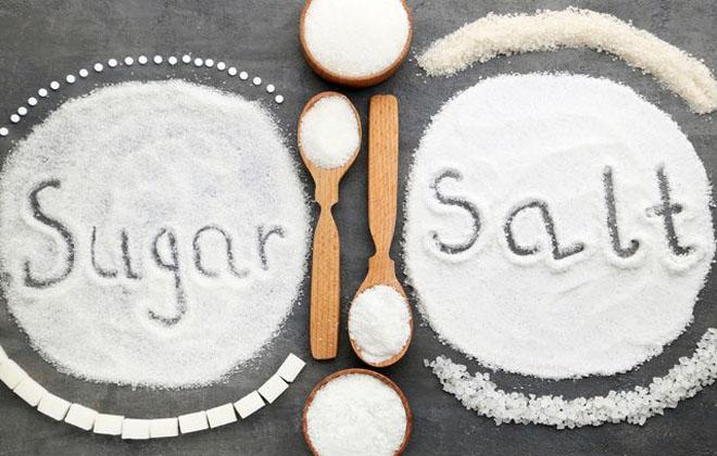 Меньше сахара и соли