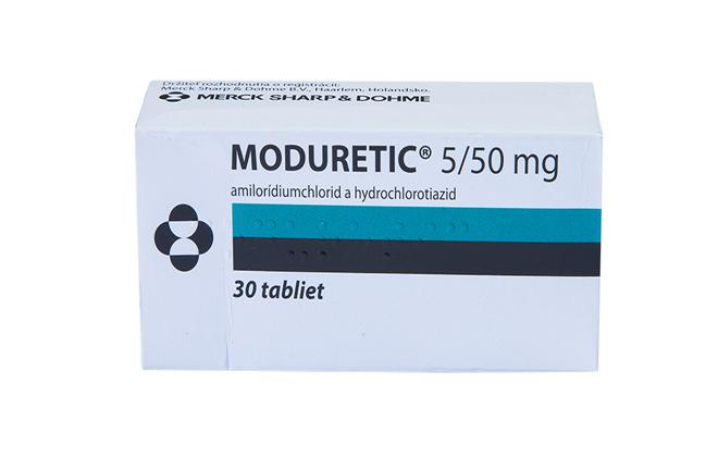 Модуретик лекарство