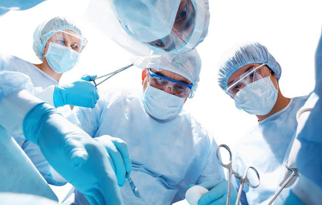 Операция у мужчины
