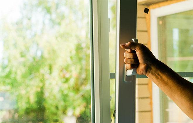 Открыть окно