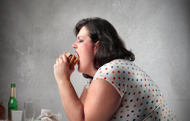 Ожирение у девушки