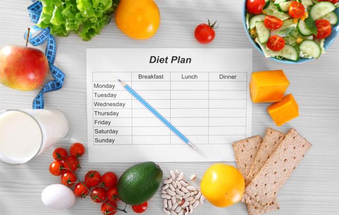 Придерживаться диеты