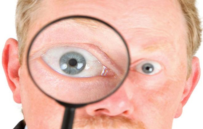 Сдавливания глазного яблока