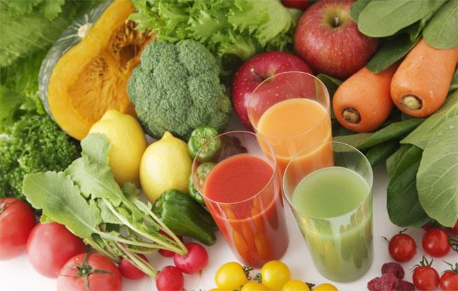 Соки овощей и фруктов