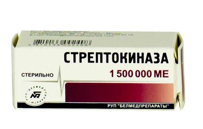 Стрептокиназа препарат