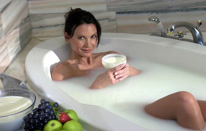 Ванная с содой