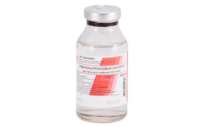 Аминокапроновая кислота в растворе