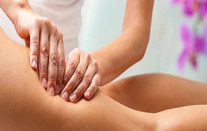 Антицеллюлитный массаж для ног