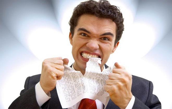 Частые стрессы у мужчины