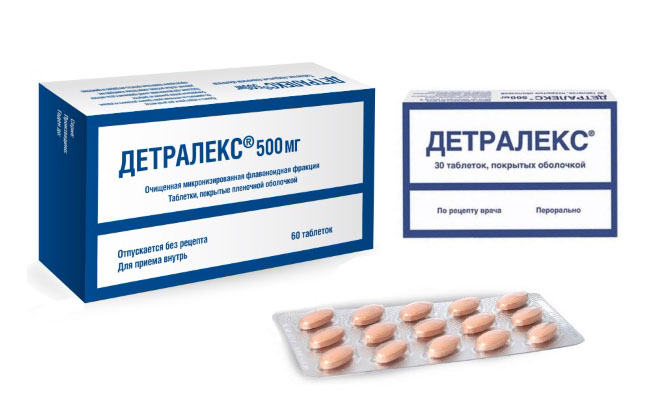Детралекс препарат
