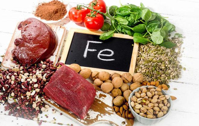 Еда с содержанием железа