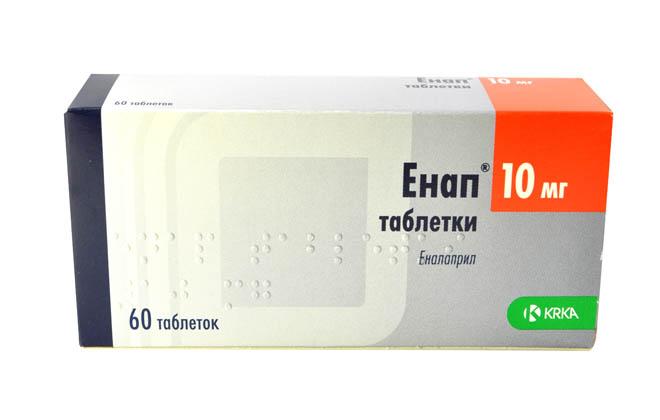 Энап таблетки