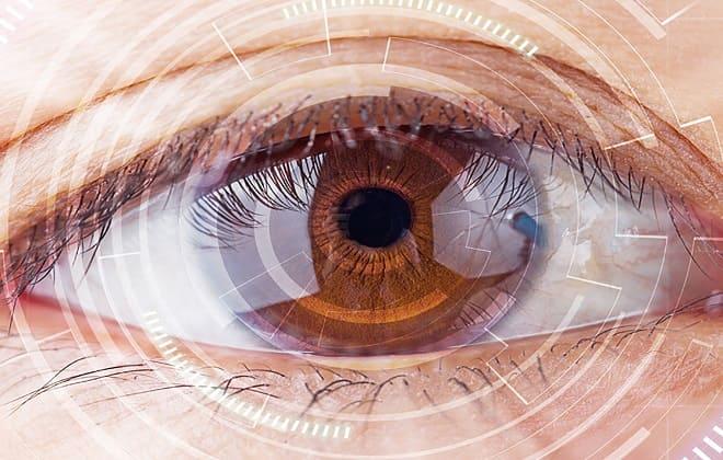 Кровоизлияние в глазу человека