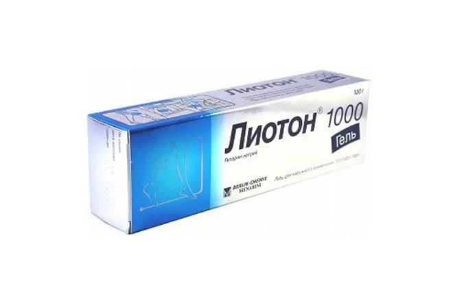 Лиотон в геле