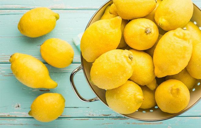 Много лимонов