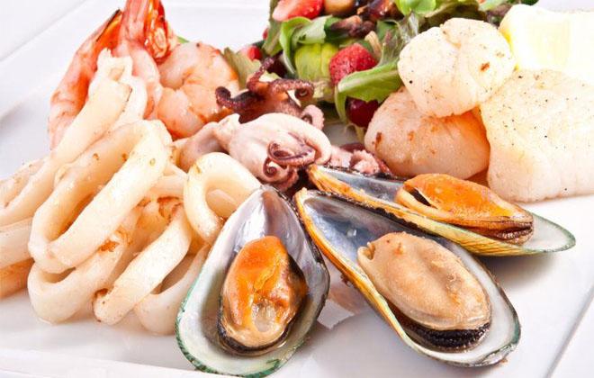 Нехватка морепродуктов
