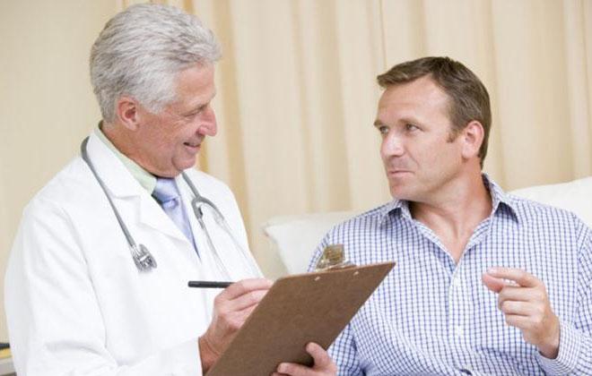 Опрос пациента врачем