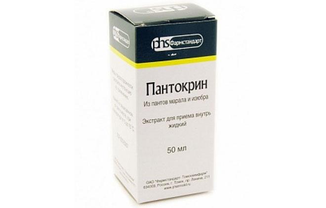 Пантокрин жидкость