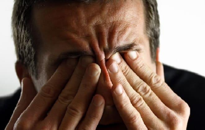 Режущая боль в глазах