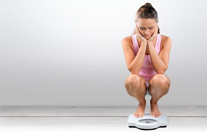 Снижение веса у женщины