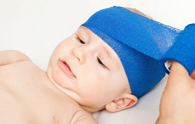 Травма головы у новорожденного