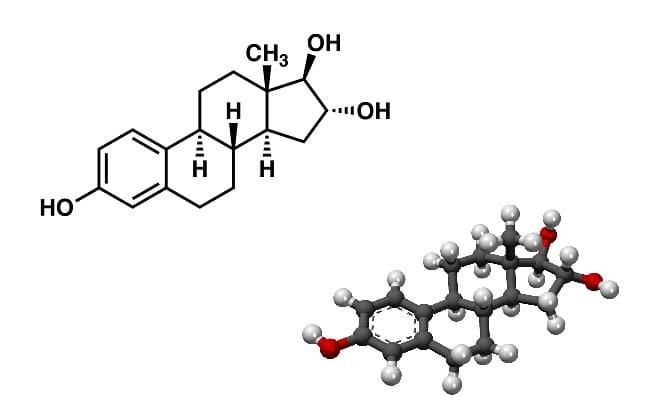 Эстриол формула гормона