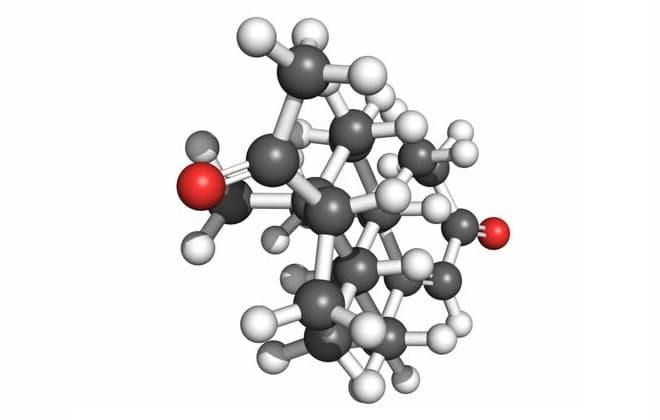 Молекула тестостерона в крови