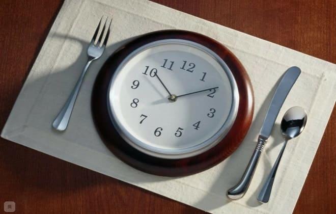 Ограниченное время для еды