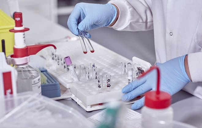 Проведения теста крови