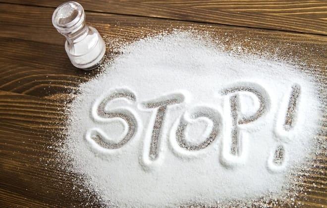 Уменьшить количество соли