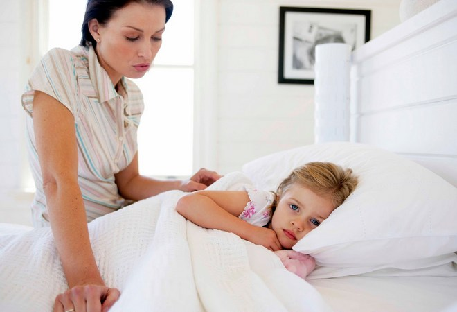Болит желудок у ребенка