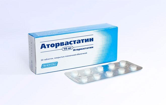 Аторвастатин таблетки