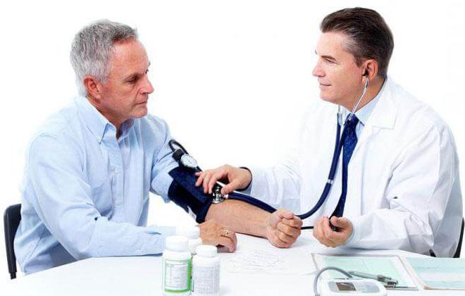 Изменение артериального давления