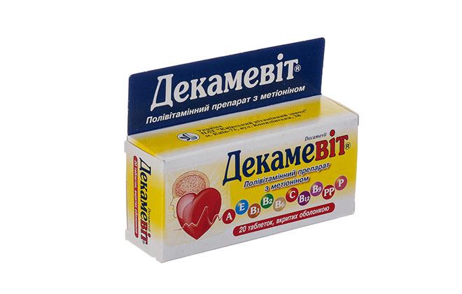 Препарат Декамевит