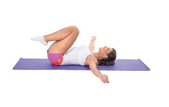 Упражнение на спине