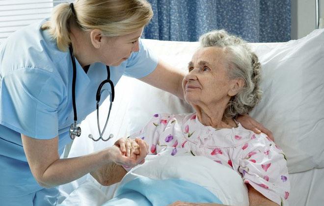 Больной в больнице