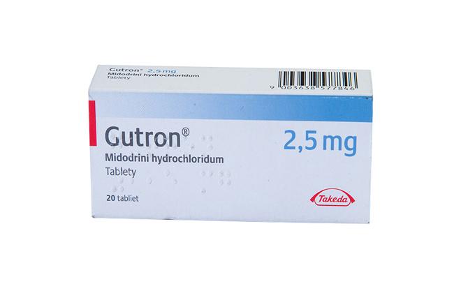 Гутрон препарат